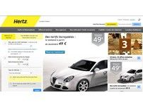 Hertz : service mondial de location de véhicules.