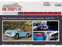 Retroloc : location de voitures anciennes.
