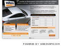 Voitures.com : financement automobile et véhicule utilitaire.