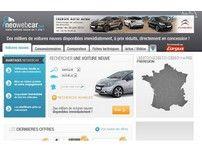 Concessionnaire vendant des voitures neuves.