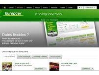 Europcar : louer une voiture en Europe.